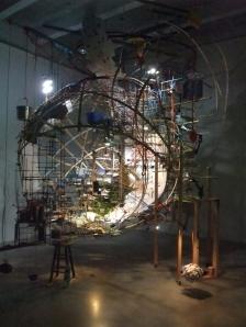 Sarah Sze - Untitled (portable planetarium)