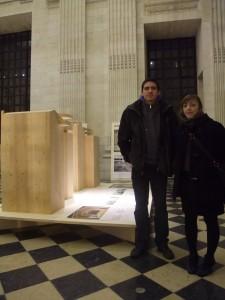 Jérôme et Anne-Cécile, étudiants à l'ENSBA Lyon.